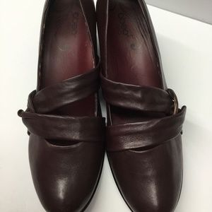 ABEO B.I.O. System Shoes Women's Burgundy Leather